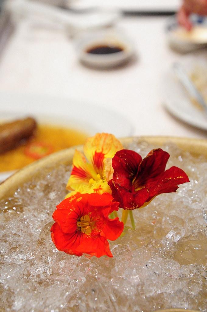 大鵬灣食堂-可以吃的花