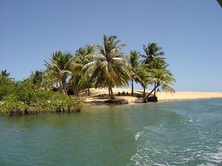 Moradores as margens do Rio São Francisco - Brasil.