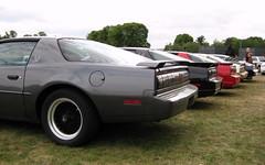 stock car racing(0.0), convertible(0.0), automobile(1.0), automotive exterior(1.0), vehicle(1.0), performance car(1.0), pontiac firebird(1.0), land vehicle(1.0), coupã©(1.0), sports car(1.0),