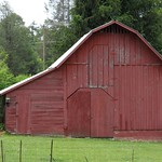 Barn in Flat Rock, North Carolina
