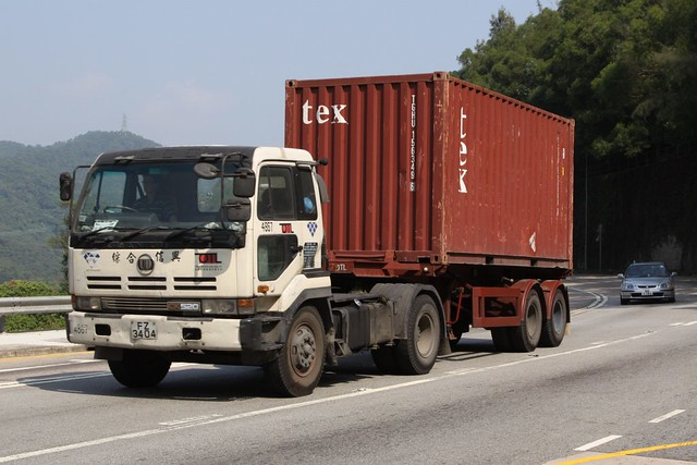 Container Truck In Hong Kong Flickr Photo Sharing