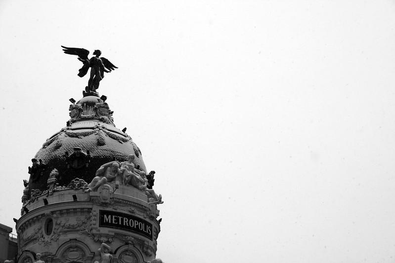10 fotos de nieve en Madrid que te dejaran helado