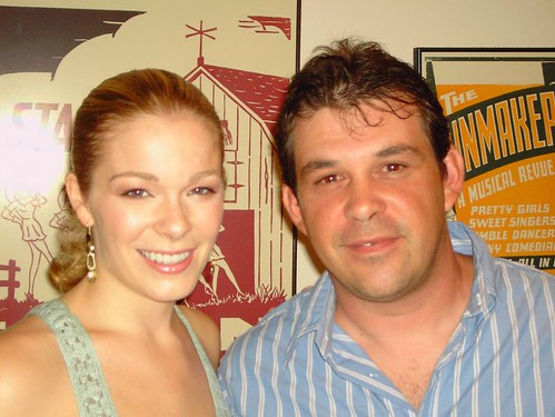 Backstage with LeAnn Rimes at the Music Circus