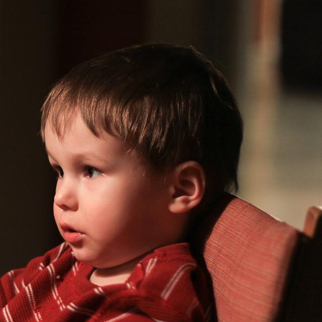 Axel a 3 ans