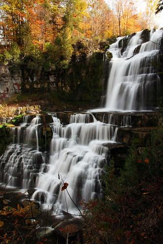 autumn newyork waterfall chittenangofalls chittenangofallsstatepark october2008