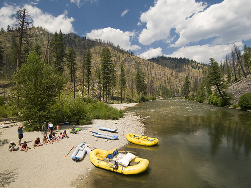 Middle Fork of the Salmon River with MTS - Riverside Beach