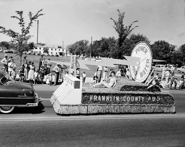 Atomic Frontier Days, Franklin County Power and Water Float, 1954