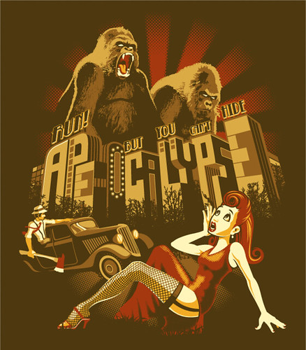 Ape-ocalypse by Leon Ryan
