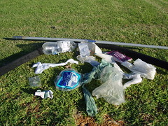 Rubbish from one trip around the harbours