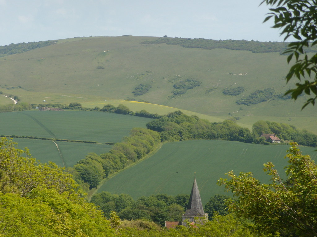 Alfriston church Glynde to Seaford