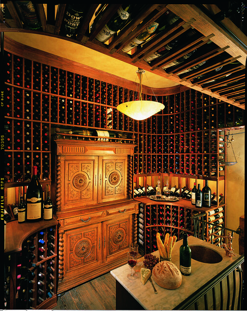 Custom wine cellar flickr photo sharing for Building wine cellar