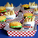 Hamburger Brownie Burger Cupcakes & Cookie Fries