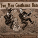 ad for Two Man Gentleman Band