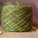 Nice green sock yarn