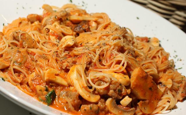 italian sausage pasta | Flickr - Photo Sharing!