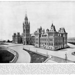 Parliament of Canada in Ottawa around 1900