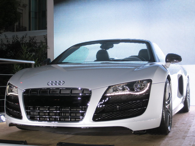 Audi R7 Convertible http://www.flickr.com/photos/colonelchi/5716490130/