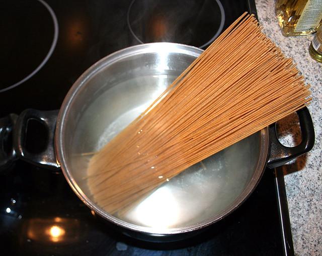 spaghetti kochen