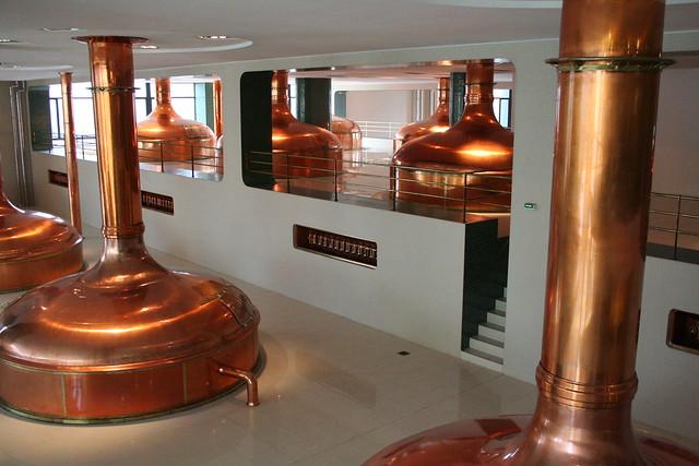 Pilsner Urquell Brewery. Plzeň. Czech Republic