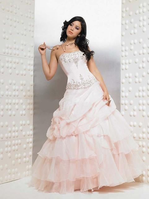 Pink Wedding Dress 5