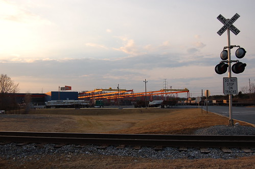 railroad sunset geotagged virginia crossing crane steel geo:lat=39211223 geo:lon=78149904