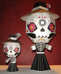 Paper Craft 155 Photos | Large La Catrina | 491