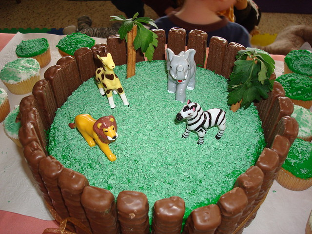 Jungle Animals Cake Toppers Uk