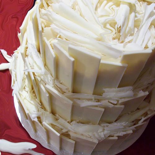 Cake Decoration With White Chocolate : White Chocolate Wedding Cake Flickr - Photo Sharing!