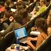 Público durante a palestra sobre o papel do editor - Dia 7/05