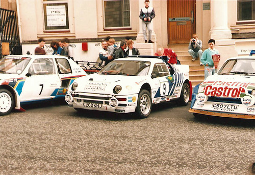 Ford RS200 - Mark Lovell