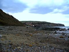 robin hood's bay north yorks england
