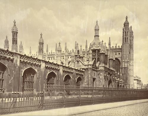 Cambridge. King's College Gatehouse