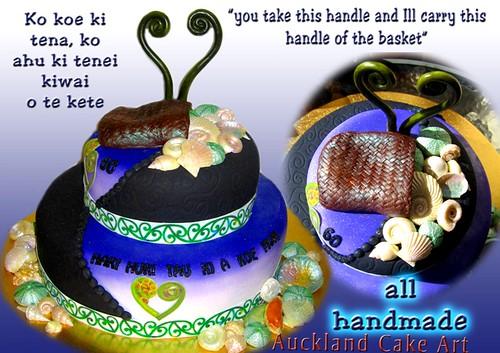 Cake Decorating Course Dunedin : Maori Wedding Cakes