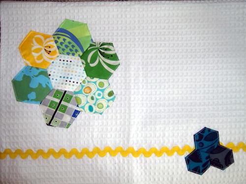 Hexagon Tea Towels - Urban Home Goods Swap