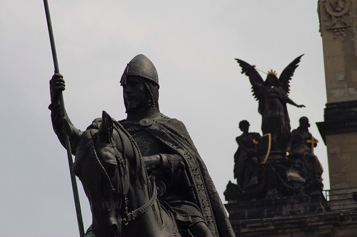 King Wenceslas, in Wenceslas Square, Prague