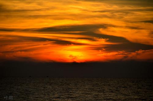 sunset singkawang 叶翎