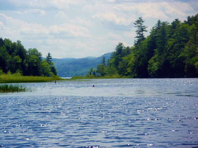 """The Most Beautiful Water I Ever Saw"" - Northwest Bay, Lake George, NY 6/06/11"