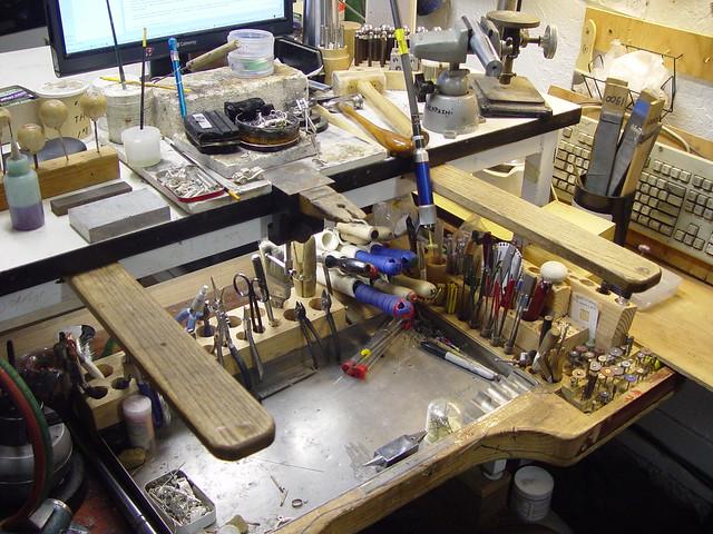 Gary S Homemade Jeweler S Workbench Flickr Photo Sharing