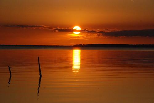 sunset orange cloud sun sol water yellow clouds jaune mexico atardecer agua eau amarillo nubes reflejo mexique nuages naranja reflets nube campeche naturesfinest nikond80 solleil méxco rajkov sandrarajkov