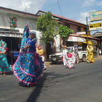 Chinandega folk dancers
