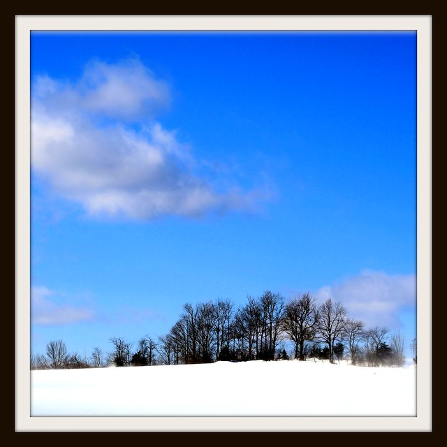Winter And Blue