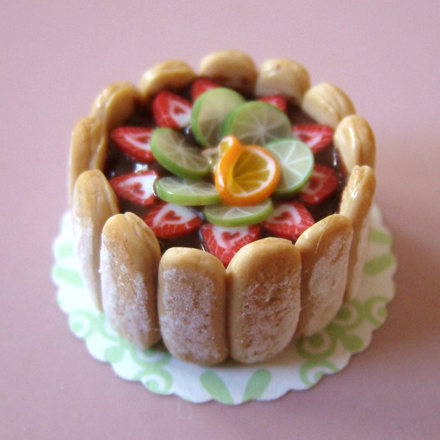 miniature food charlotte aux fruits flickr photo sharing. Black Bedroom Furniture Sets. Home Design Ideas