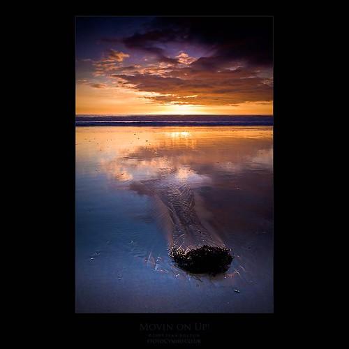 sunset seaweed reflection wales coast tide cymru coastal coastline tidal aberavon porttalbot dapa abigfave dapagroup dapagroupmeritaward