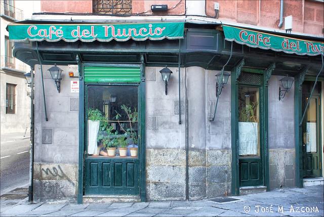 Madrid. Café del Nuncio.