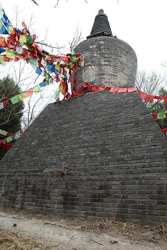 南无燃灯古佛莲花教主之宝塔 / tibetan pagoda at cishan temple of