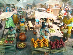 Mexico City - Gallery of History - Market Scene