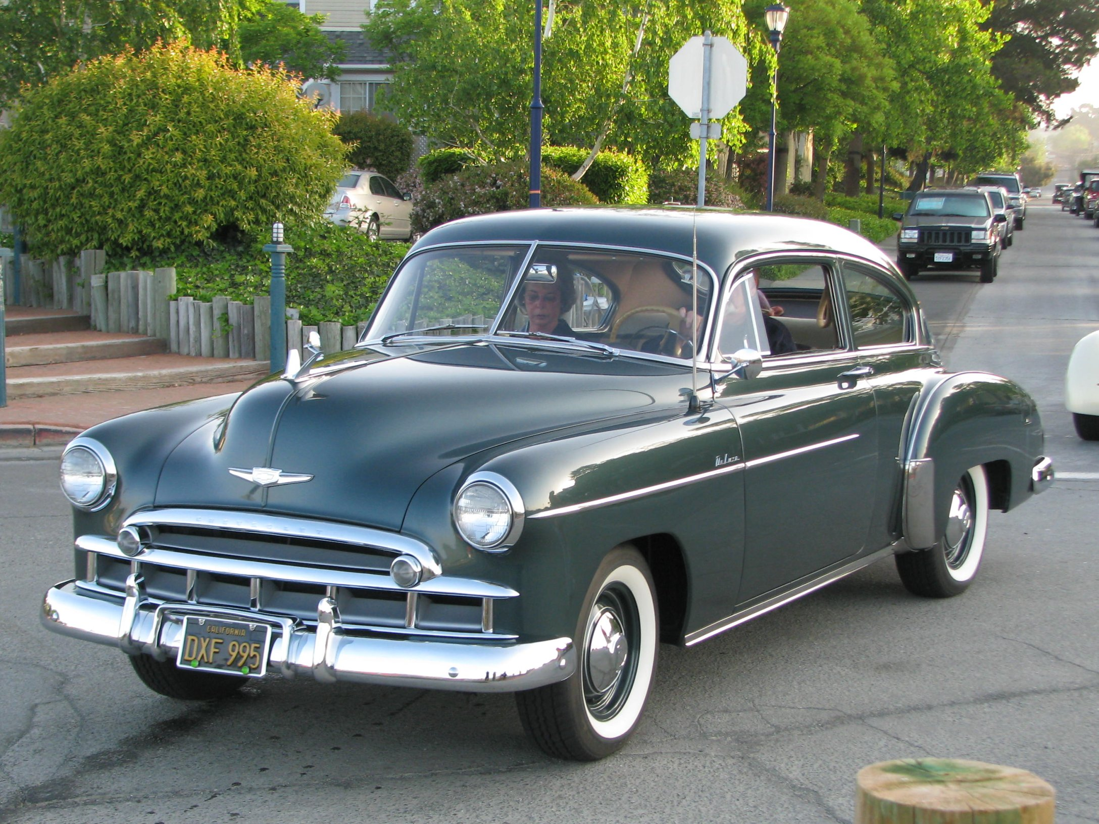 1949 Chevrolet 2 Door Fleetline Deluxe Dxf 995 1