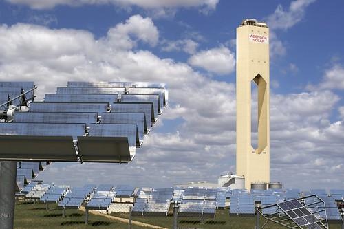 Una planta de energía solar de Abengoa