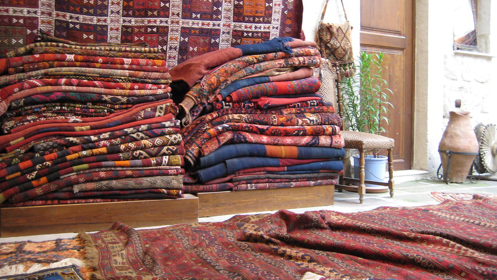 Sultan Carpets Goreme Carpets Goreme Area Rugs Green