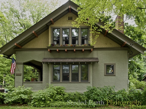 A Craftsman Bungalow Seeded Earth Photo